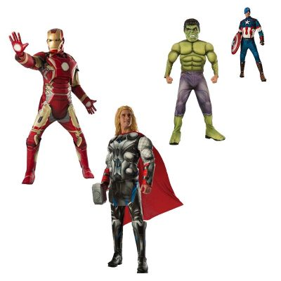 Captain America, Hulk, Ironman, Thor