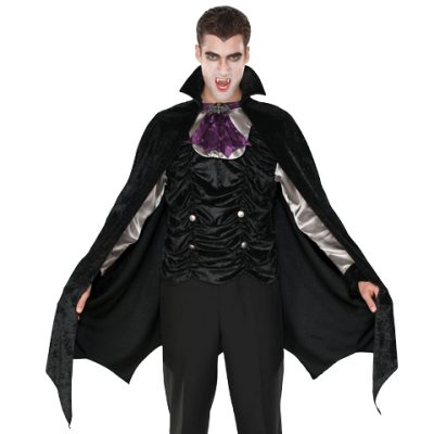 Male Vampire shirt, cape, and cravat