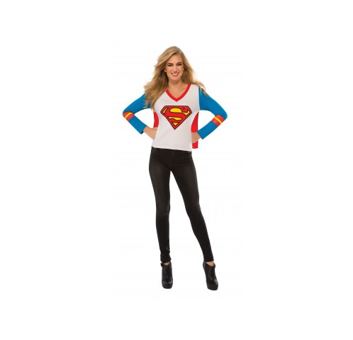 Supergirl Sporty Tee shirt Costume