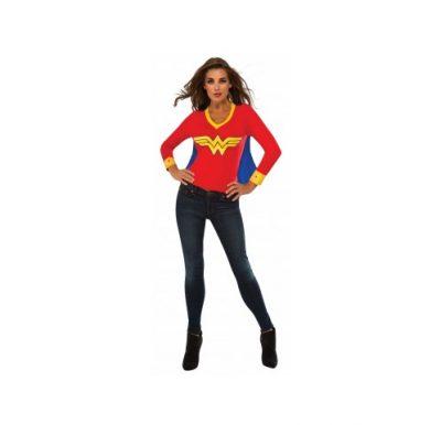 Wonder Woman Sporty Tee w/ Cape