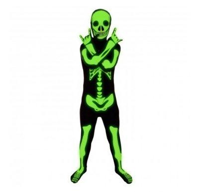 Child's Glow Skeleton Morph Suit