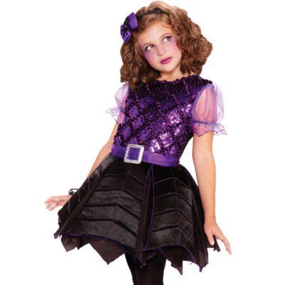 Spiderella Child's Costume Dress