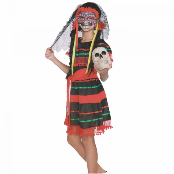 Day of the Dead Girls Dress