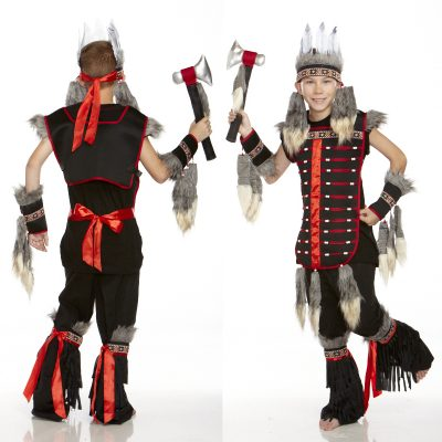 American Indian Warrior Costume