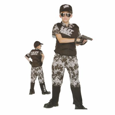 S.W.A.T. Force Kids Costume