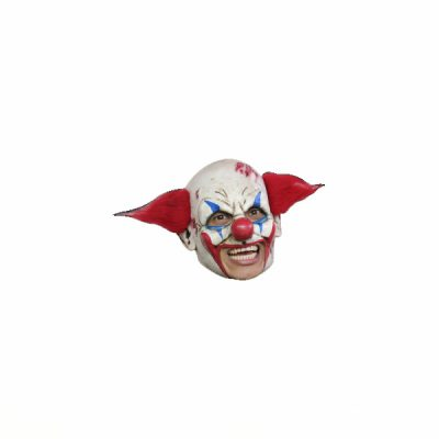 Deluxe Open Mouth Clown wi/ Pointy Red Hair