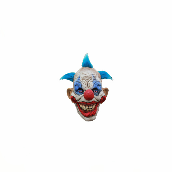 Dammy the Clown -extra large scary clown mask