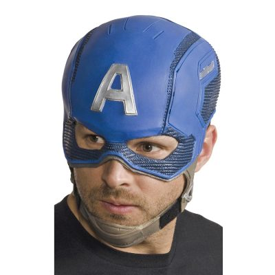 Captain America Headpiece Mask