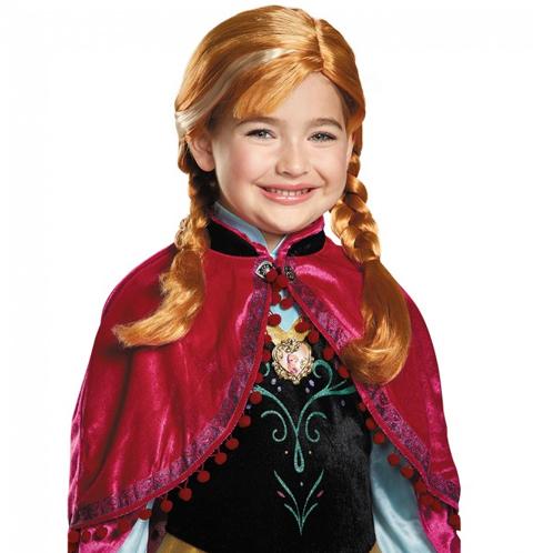 Anna Frozen Child Wig