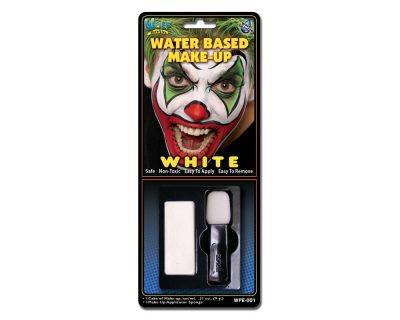 Water Activated Makeup White