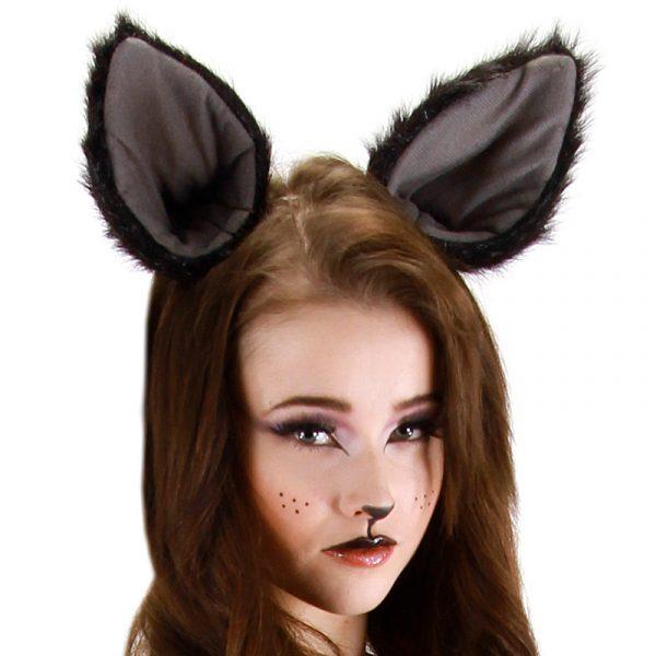 Oversized Kitty Cat Ears on Headband