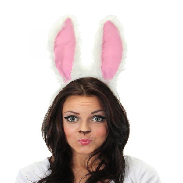 White Rabbit Plush Ears