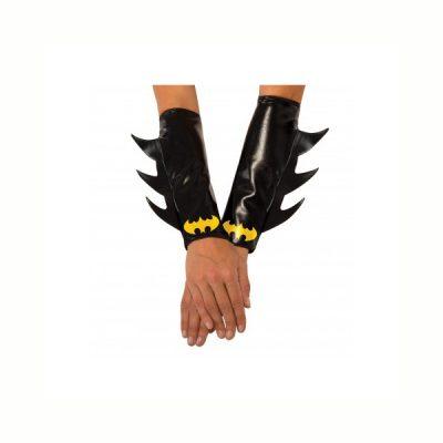 Batgirl gauntlets w/ Batman Logo