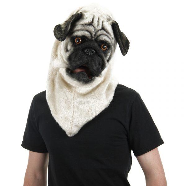 Deluxe furry Pug mask