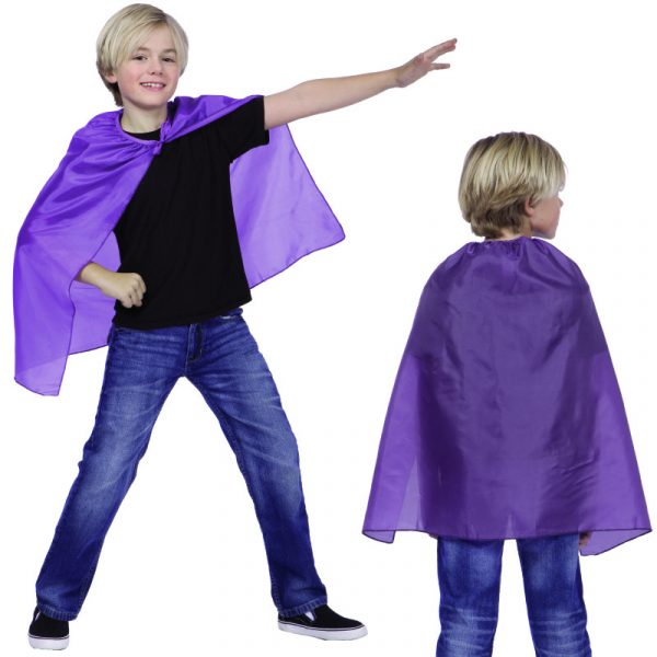"Purple 26"" Cape"