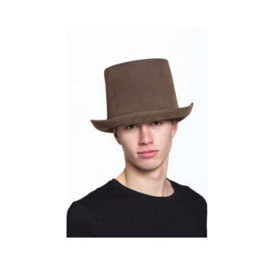 Deluxe brown top hat