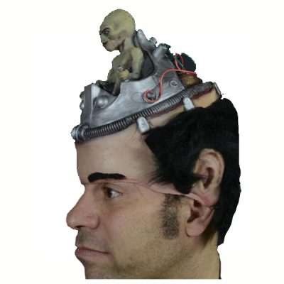 Alien Headpiece Side view
