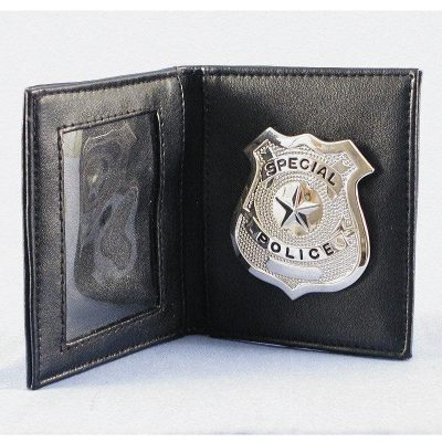 Special Police Badge and Wallet