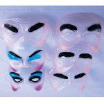 Transparent half face mask
