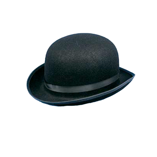 Promo Black Derby Hat