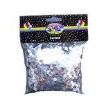 Silver Confetti Dots