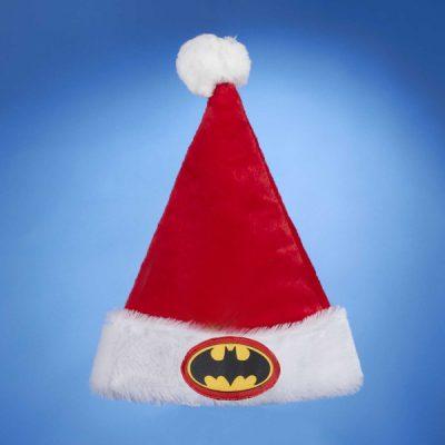 Plush Batman Santa Hat