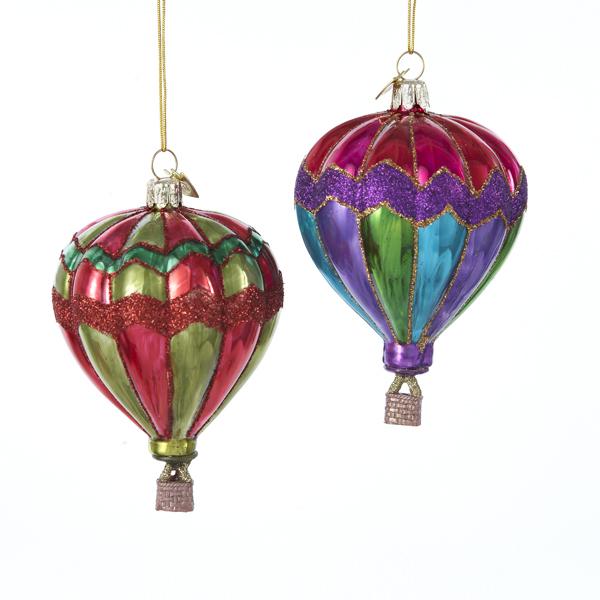 Hot Air Balloon Ornament – Glass Tree Ornament