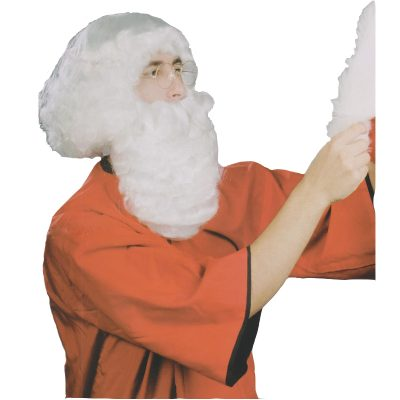 Santa Wig and Beard Set - short