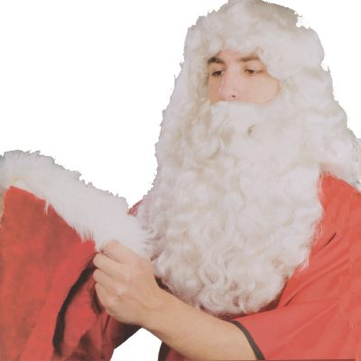 Santa Wig and Beard Set - higher quality