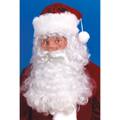 Santa beard wig eyebrows set