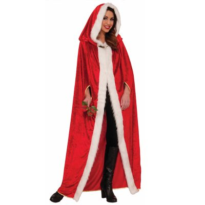 Long Elegant Christmas Cape
