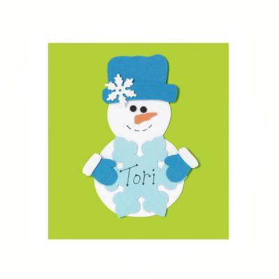 Holiday Foamies Snowman
