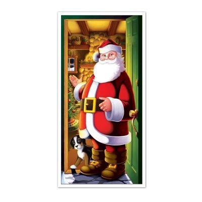 Door Cover Santa
