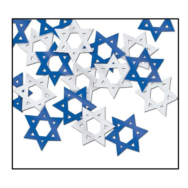 Confetti Star David