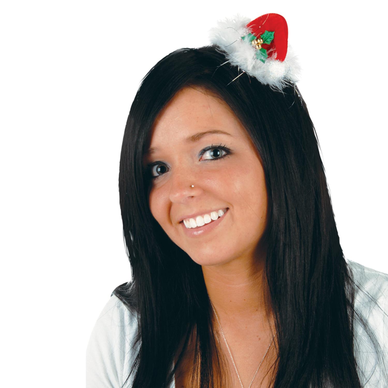 Hair Clip Santa