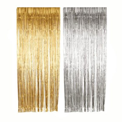 Tinsel icicles Gold or Silver
