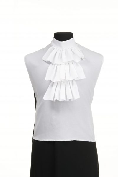 shirt front ruffled jabot