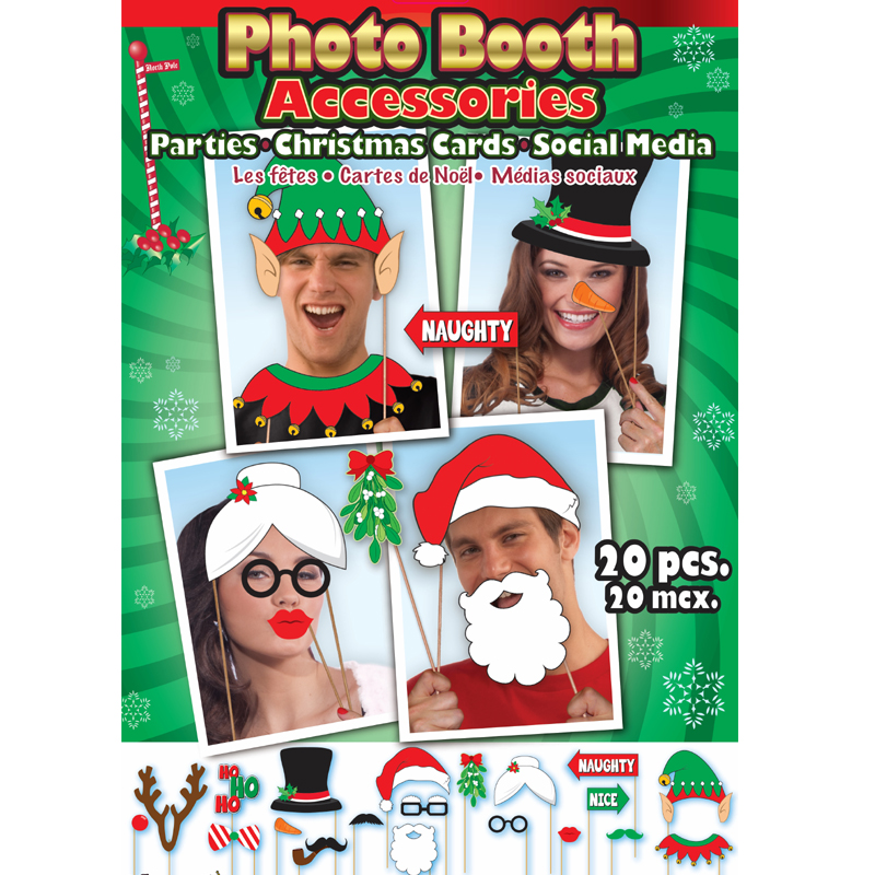 7e96211d82c Striped Santa Hat long velvet red green Elf Hat.  5.99 Read more · Christmas  Photo Booth Accessories