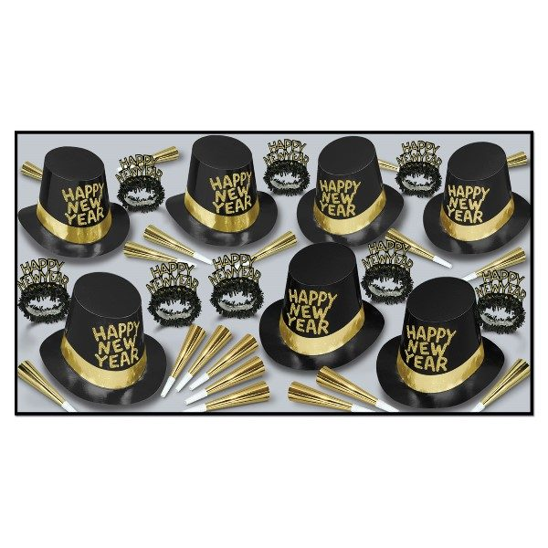 New Years Eve Party Pack Manhattan 50 people