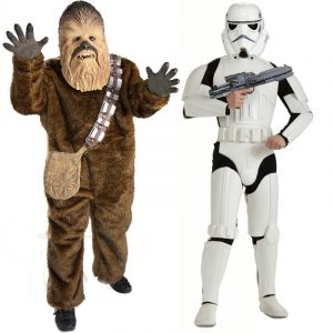 Chewbacca Costume, Storm Trooper Costume