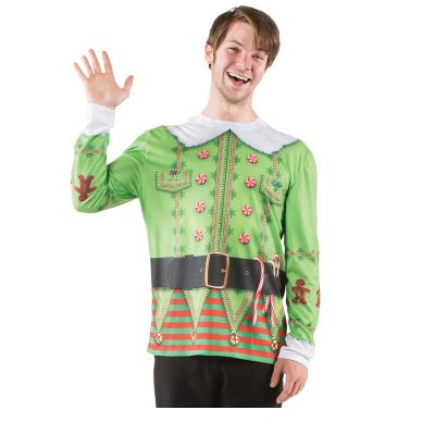 Christmas Elf Ugly Sweater