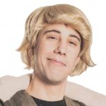 Mens Blonde Wig Kristopher