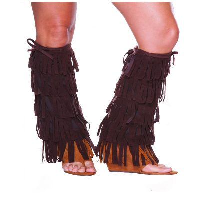 Fabric Fringed Beauty Shoe Covers