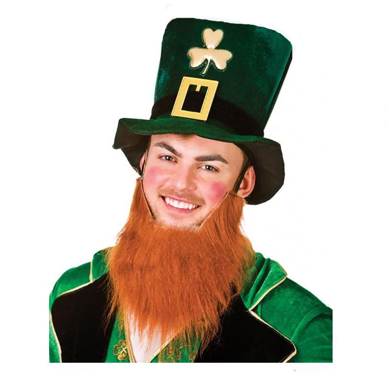 leprechaun hat attached beard