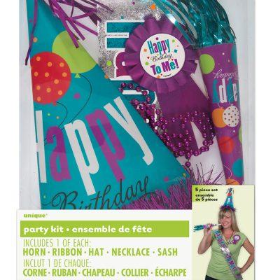 Happy Birthday Party Kits