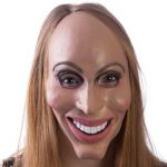 Full Face Mask Smiling Politician or Musician