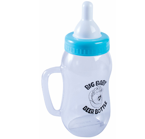 Plastic Big Baby Beer Bottle