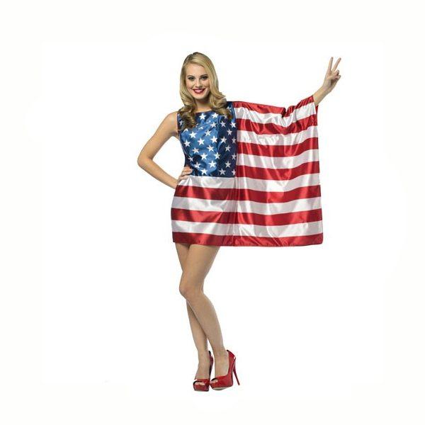 Flag Dress USA American Flag