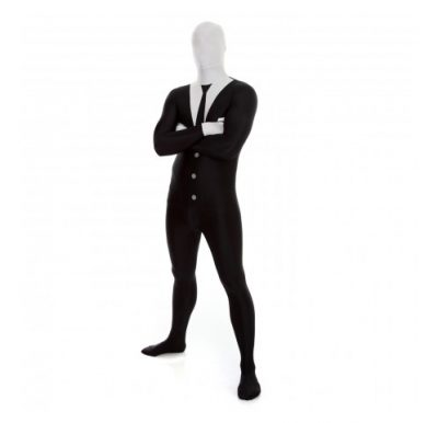 Businessman or Slenderman Morphsuit