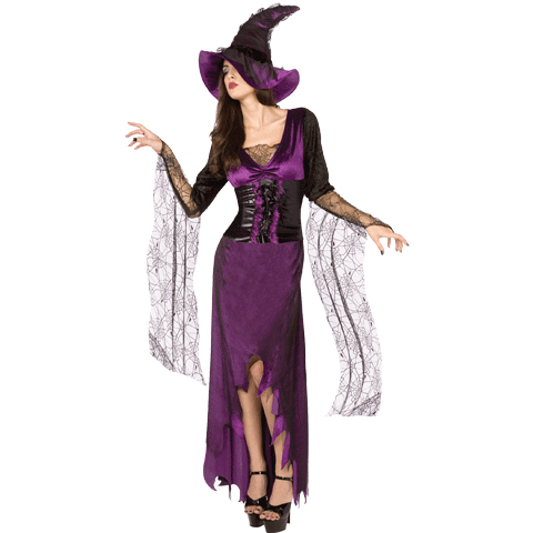 Mystic Witch Dress & Hat Costume - Cappel's